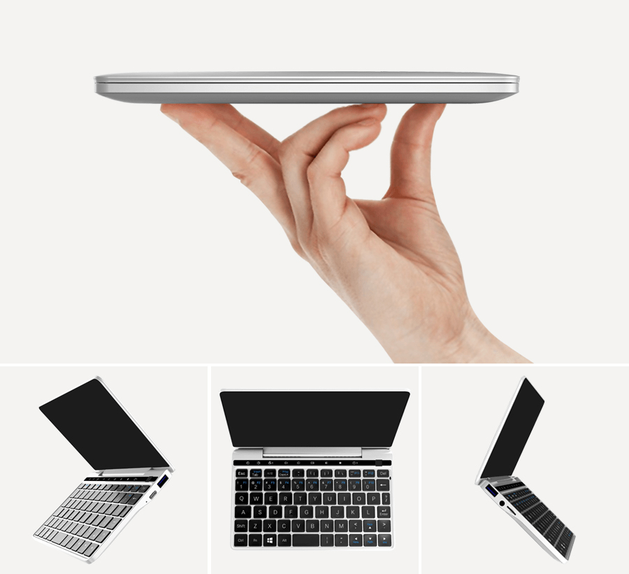 "Original Tablet PC Mini Laptop Windows 10 Home GPD Pocket2 Pocket 2 7"" CPU M3-7y30 Aluminum Shell 8GB RAM 128GB ROM Keyboard"