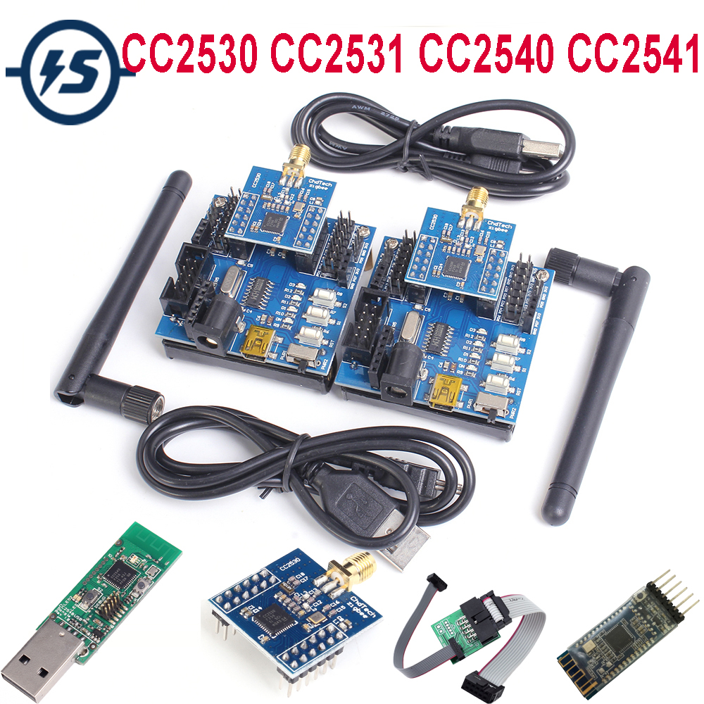 Wireless Zigbee CC2530 CC2531 CC2540 CC2541 Sniffer Bare Board Analyzer Module USB Interface Dongle UART Core Development Board