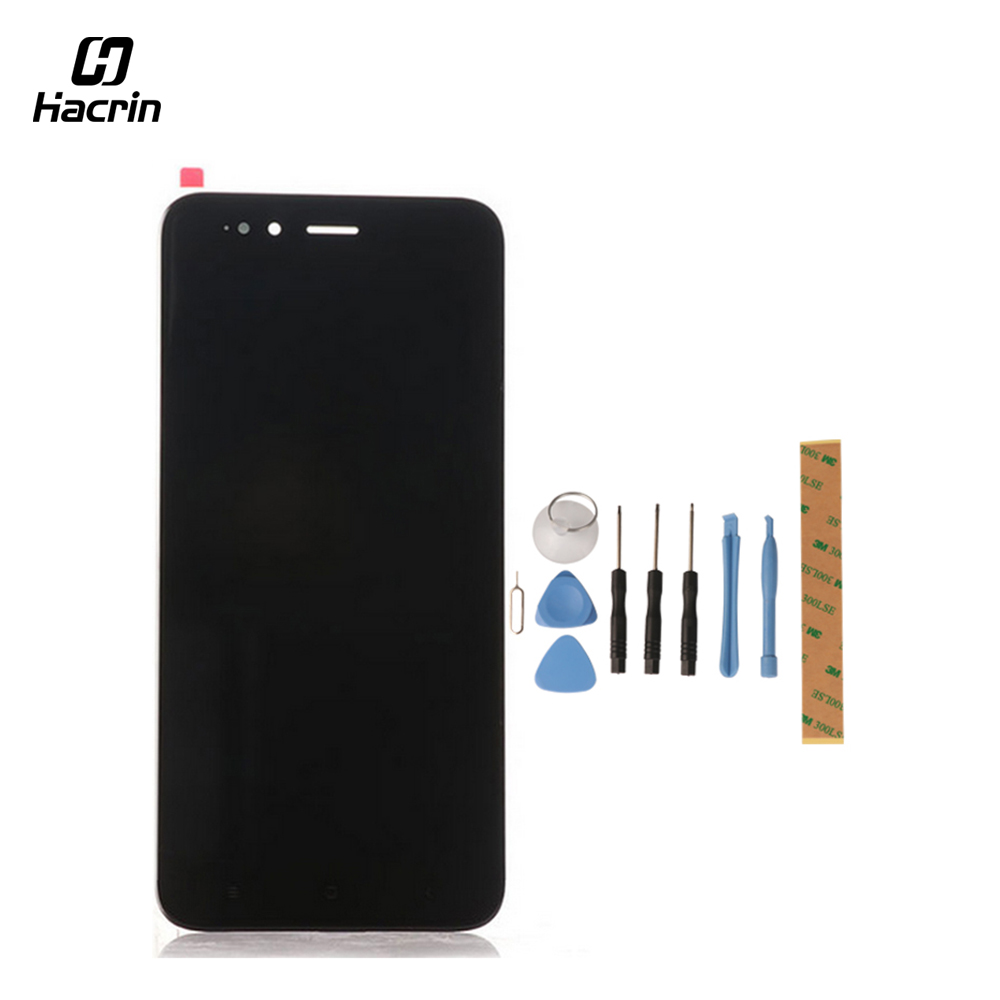"""Hacrin for Xiaomi Mi 5X LCD Display+Touch Screen with Tools Glass Panel Accessories Phone Replacement For Xiaomi MiA1 Mi A1 5.5\"""""""