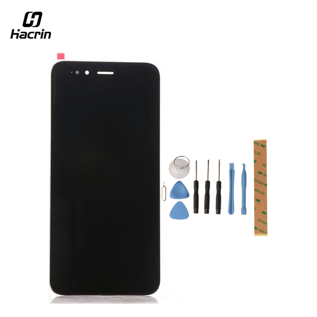 """Hacrin for Xiaomi Mi 5X LCD Display+Touch Screen with Tools Glass Panel Accessories Phone Replacement For Xiaomi MiA1 Mi A1 5.5"""""""