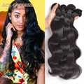 Indian Virgin Hair 7A Unprocessed Virgin Indian Hair Body Wave 4 Bundle Deals Indian Remy Hair No Tangle