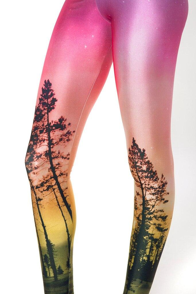 b299c8aee80f1 Wholesale Women Sexy Universe Printing Leggings Pants Elasticity Fashion  Space Tie Dye Milk Silk
