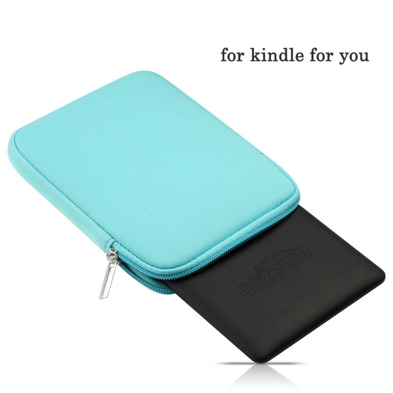 6 Hot Sale Universal Portable Soft Bag for Kindle paperwhite High Quality Liner Sleeve Handle Zipper Pouch Case 499/558 Feb16