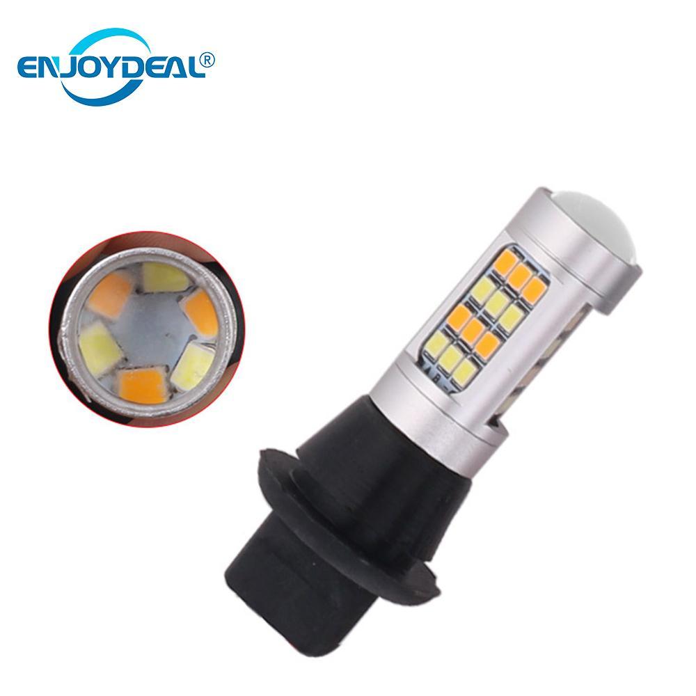 Emergency Lights Honey 2pc 1156/7440 2835smd 42led Dual Color Signal Reverse Drl Light Code Car Led Lamp Bulb 42smd Signal Lamp Headlight Fog Light Utmost In Convenience Lights & Lighting
