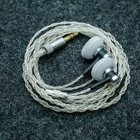 100 Newest 300ohm High Impedance In Ear Earphone Earbud 300ohms Earbud Flat Head Plug Earplugs Earphone