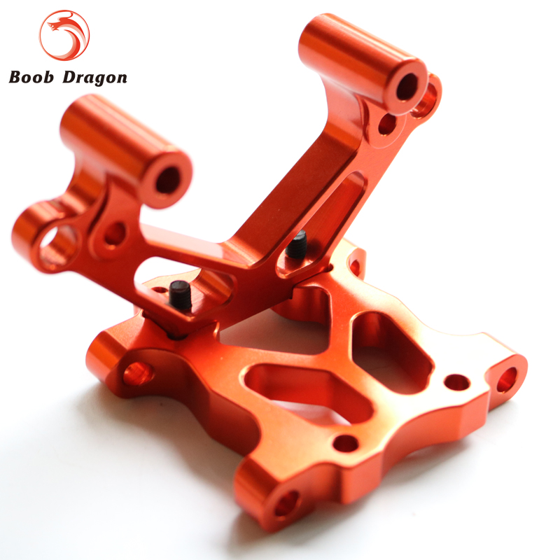 Baja CNC Alloy front bulkhead for 1/5 HPI baja 5b 5t 5sc Rovan King Motor alloy front hub carrier for 1 5 hpi baja 5b 5t 5sc