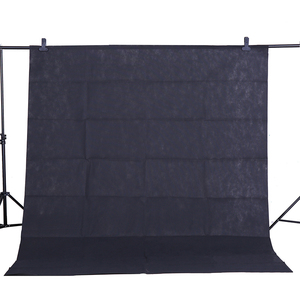 Image 3 - CY Hot Sale 1.6*4M/5.2*13ft Length Photography Studio Non woven Backdrop Background Screen 5 Color Green white blue (optional)