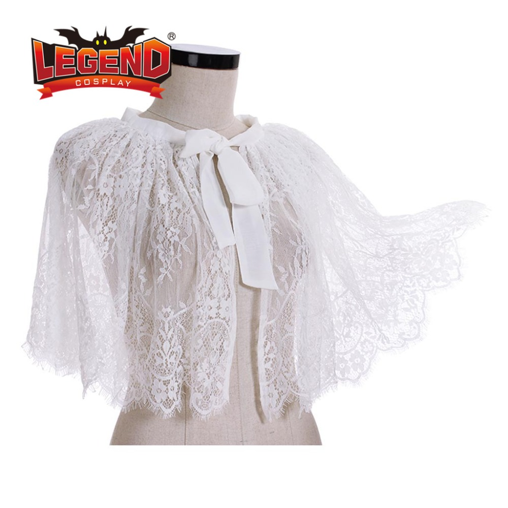 Lace Bridal Wraps Wedding Bridal Capelet Women Shawl Evening Capes mini cape lolita lace cape capelet