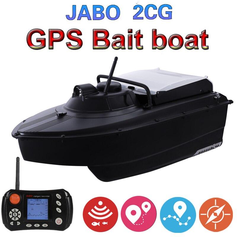 JABO 2CG 20A GPS Auto Retorno Piloto Automático 2.4G GPS localizador De Peixe isca Isca De Pesca Barco hélice de barco com metal guarda