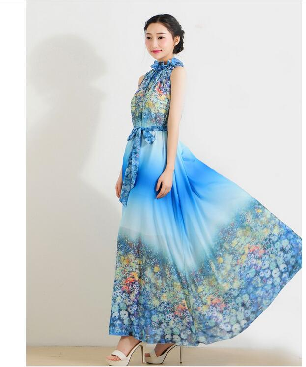 Compare Prices on Silk Maxi Dress Sale- Online Shopping/Buy Low ...