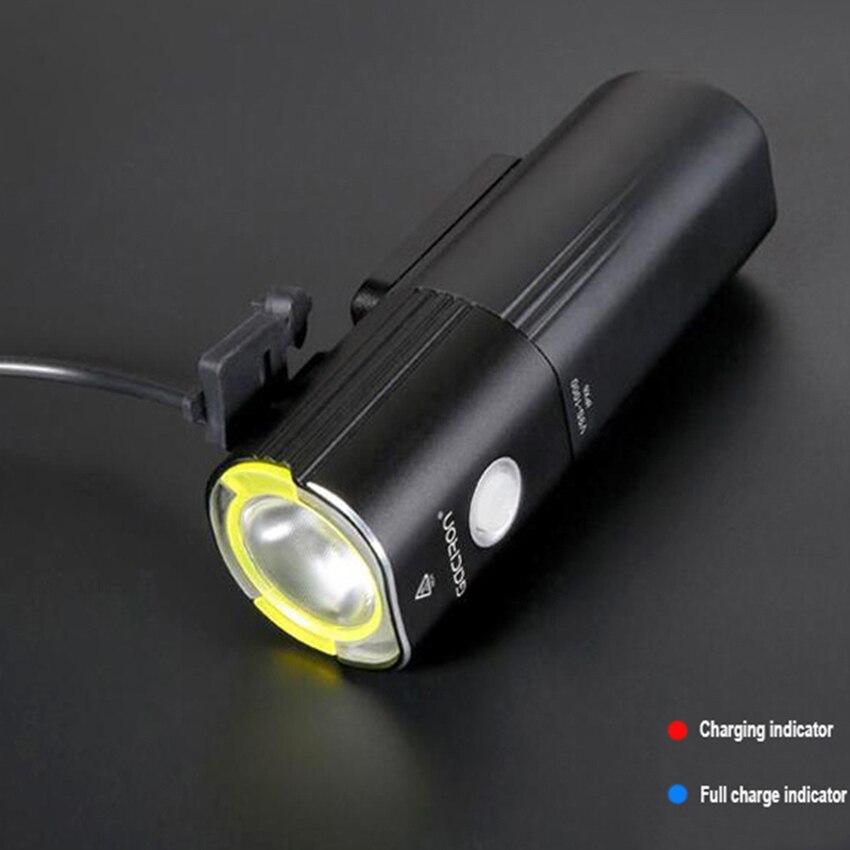Велосипедный USB светильник L2, светильник для велосипеда, светодиодный портативный светильник для мобильного телефона с 26650 батареей, водонепроницаемый велосипедный светильник s - 3