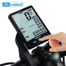 INBIKE Mountain Bicycle Computer 2.8 Inch Large Screen Bike Digital Speedometer Waterproof Wireless Cycling Measurable Stopwatch