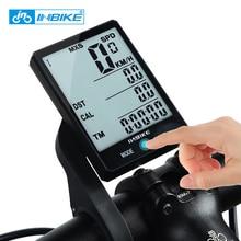 INBIKE горный велосипедный компьютер 2,8 дюймов Большой экран велосипед цифровой спидометр водостойкий беспроводной Велоспорт измеримый секундомер