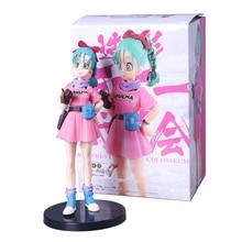 Box 16cm Dragon Ball Z Figure Young Girl Bulma DragonBall Figure Big Budoukai 7 Vol.5 buruma PVC Figure Collectible Model Toy
