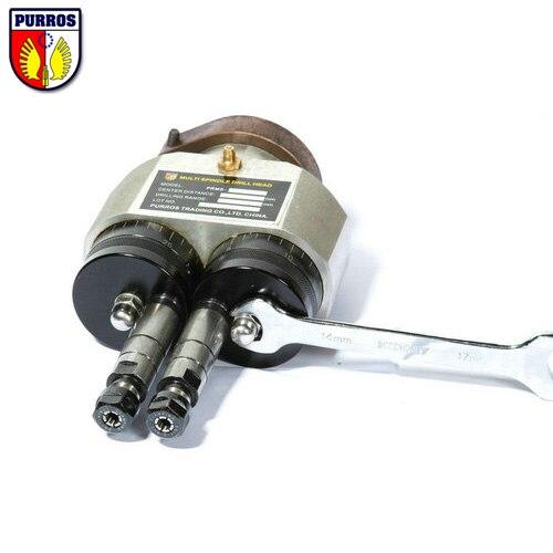 Reguliuojama dviejų velenų gręžimo galvutė, veleno centro - Elektrinių įrankių priedai - Nuotrauka 3