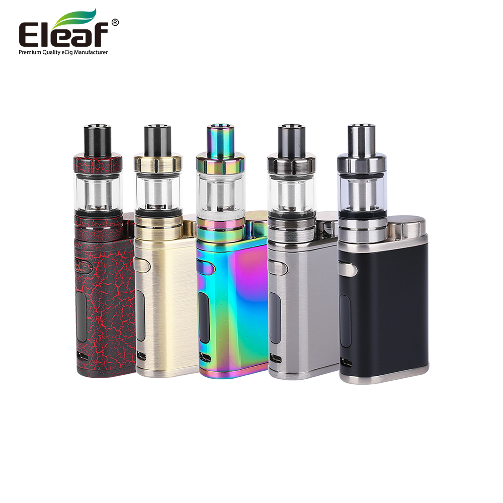 Original Eleaf IStick Pico Kit With 75W E Cigarette Mod And MELO III Mini Tank 2ml Istick Eleaf Pico Kit Without 18650 Battery