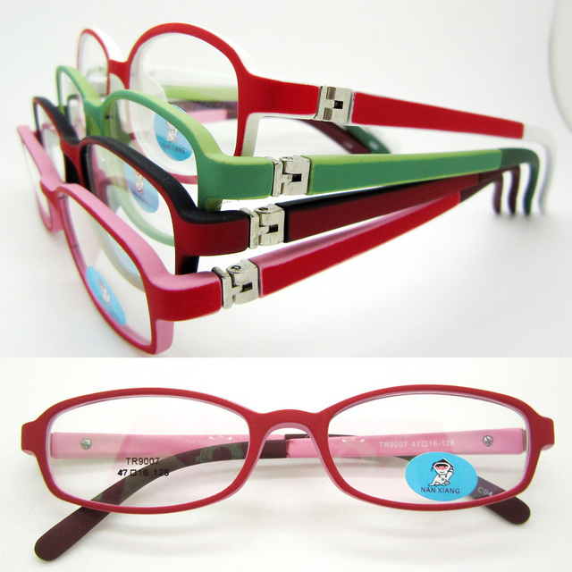 wholesale lot 9007 kid high classic TR90 rectangle eyeglass frames ...