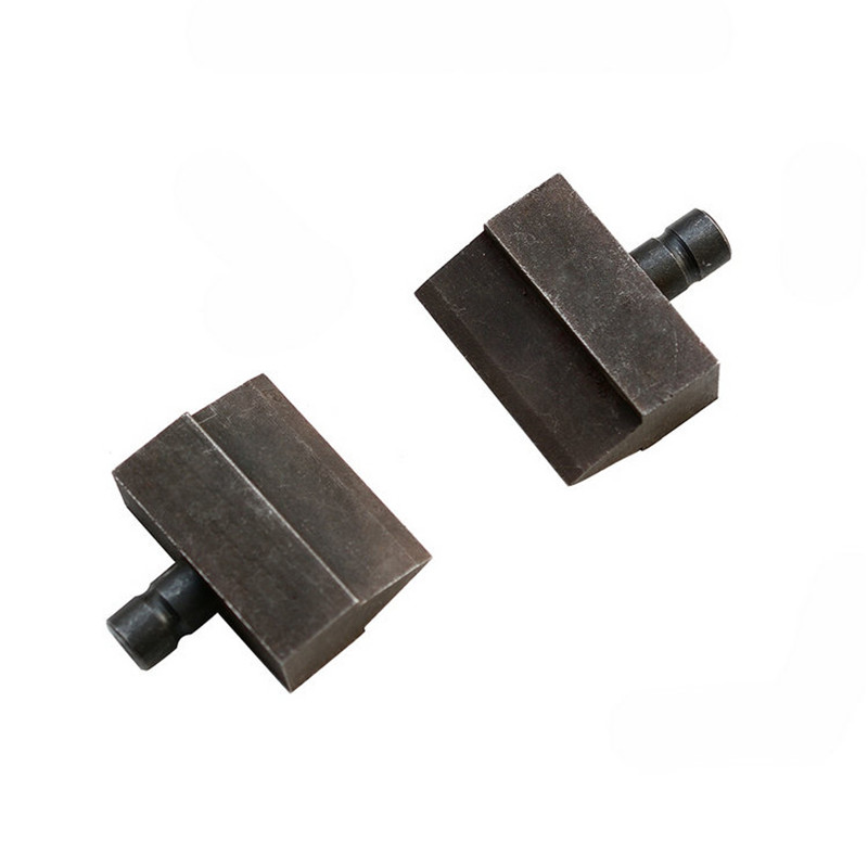 1 pair for hydraulic steel cutting shear thread cutter blade HY-12 HY-16 HY-22 spare blade hydraulic rebar cutter steel bar cutting tools hydraulic steel cutter hy 22 12t 4 22mm