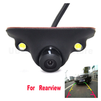 170 Degree 2LED Car Front Left/Light Side View Blind Spot Camera Waterproof Night Vision HD