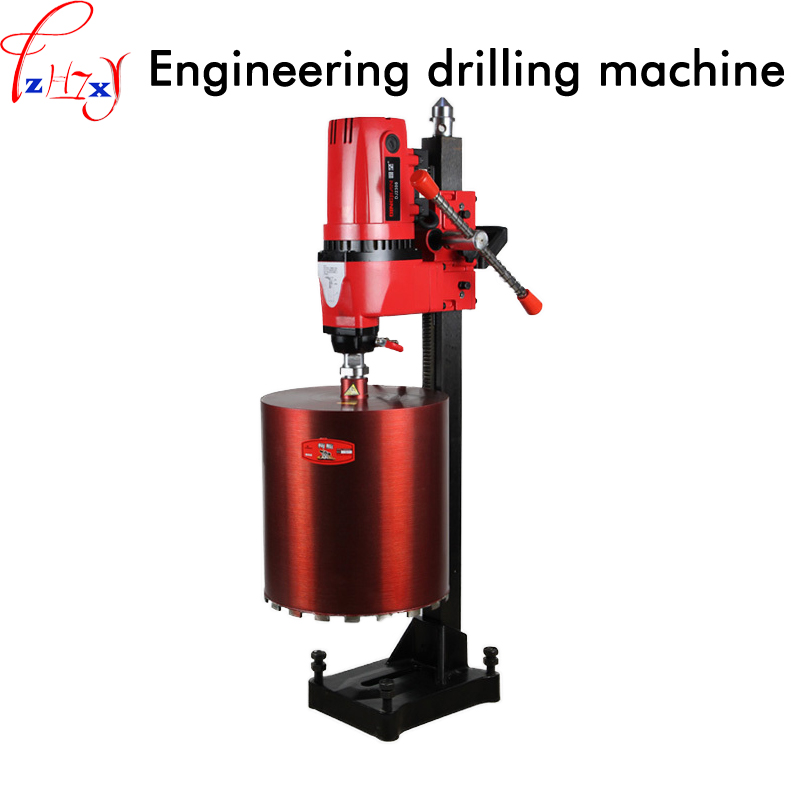 цена на Professional engineering drilling machine DJ2300 engineering concrete wall drilling machine 300mm diamond water drilling machine