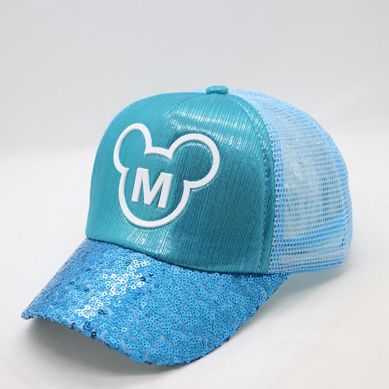 BINGYUANHAOXUAN Cute Hatlander Kids Baseball Caps Visor Hats SnapBack Casquette Gorras Cartoon Summer Mesh