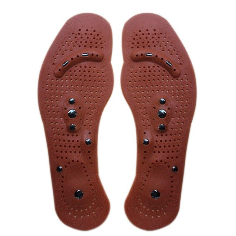 2018 Nova Terapia Magnética Magnet Saúde Massagem Palmilhas Homens Mulheres  Pads Sapatos Conforto H7JP 02b4c53b020f0