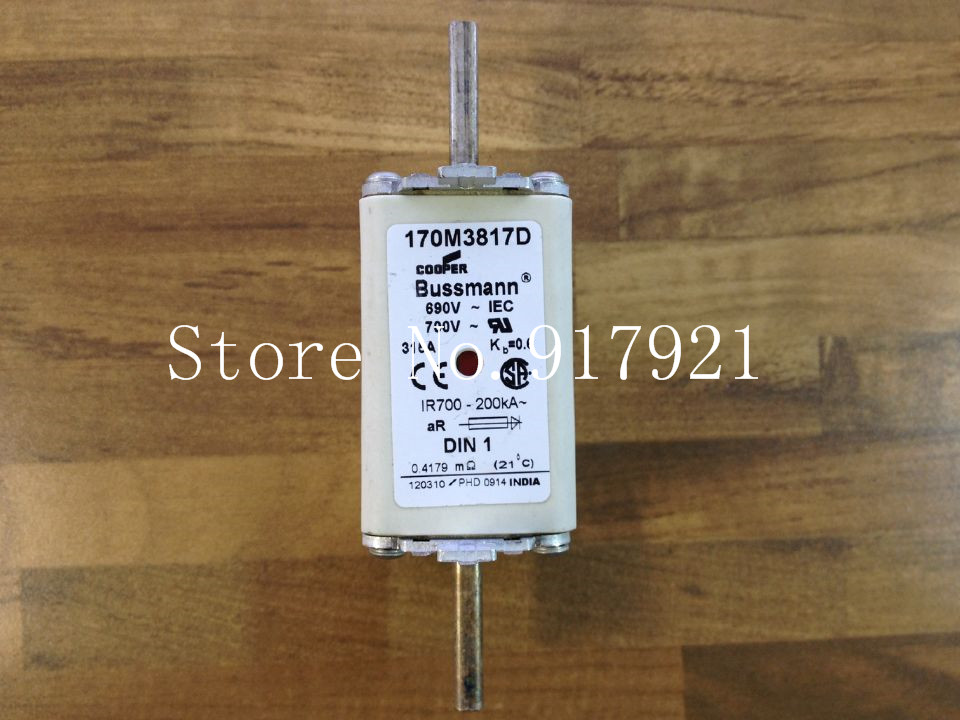 [ZOB] The United States Bussmann 170M3817D 315A 690V fuse original authentic шкаф для ванной the united states housing