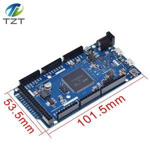 Image 2 - Official Compatible DUE R3 Board SAM3X8E 32 bit ARM Cortex M3 / Mega2560 R3 Duemilanove 2013 For Arduino Due Board  With Cable