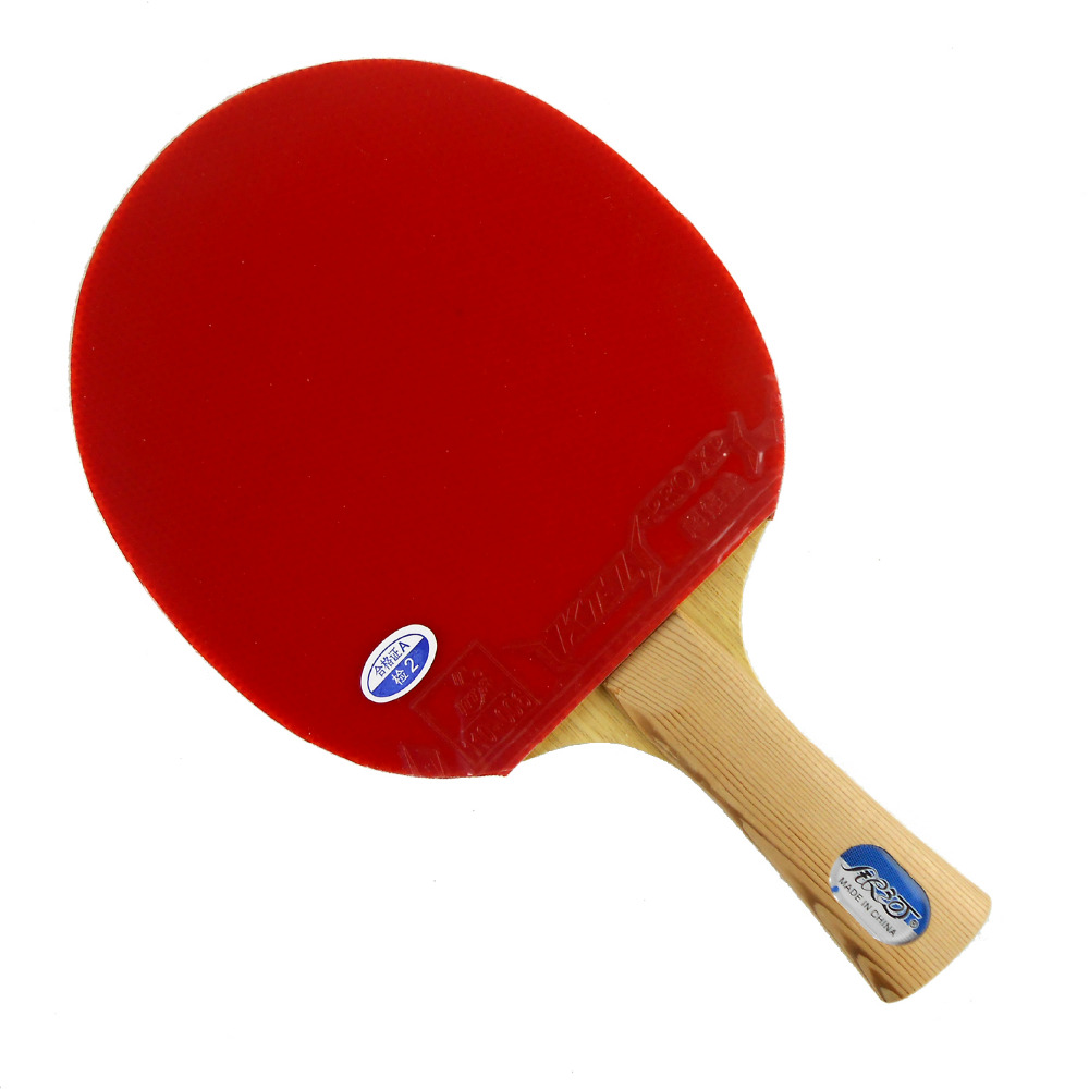 Pro Table Tennis (PingPong) Combo Racket: Galaxy YINHE T-11+with 2 pieces KTL (Pro XP) Long Shakehand FL