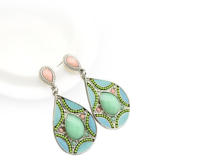 HuiMei Ethnic 2018 Novi dolazak Moda za žene Smola perle Link - Modni nakit - Foto 4