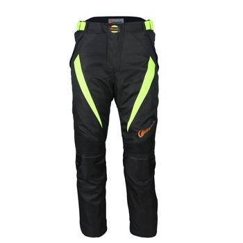 LumiParty Unisex Motorcycle Cycling Pants Off-road Racing Mesh Fabric Breathable Wear-resistant Crash Proof Motorbike Pants r25