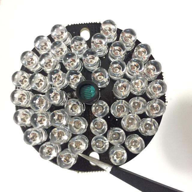 CCTV Fill Light 48 LED 850nm Illuminator IR Infrared Night Vision Light Lamp For 50 CCTV Camera