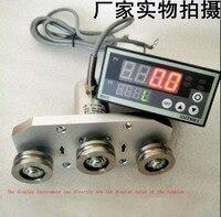 Три шкив датчик натяжения измерения трос, пряжа с дисплеем 10N 50N 100N 200N 1,5 мВ/V 0 ~ 5 В 1 ~ 5 В 4 20mA 0 10mA