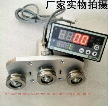 Тройной ролик датчик натяжения измерительный трос, пряжа с дисплеем 10N 50N 100N 200N 1,5 мВ/в 0 ~ 5 в 1 ~ 5 В 4-20мА 0-10ма
