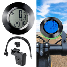 Waterproof Stopwatch Bike Bicycle Speedometer Backlight Odometer Black Cycling Wireless Computer Extension Holder Bicycle Parts недорого