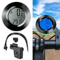 Waterproof Stopwatch Bike Bicycle Speedometer Backlight Odometer Black Cycling Wireless Computer Extension Holder Bicycle Parts