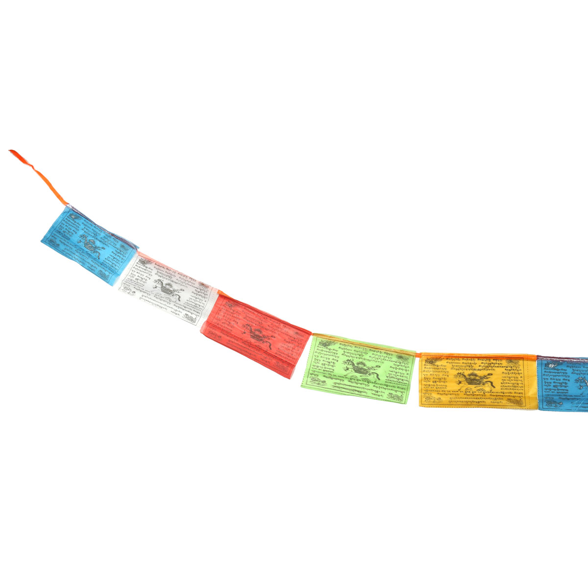 Mix Color Buddhist Prayer Flags 20 Pcs Set 3