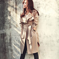 2017 Fashion/Casual Women's Trench Coat Long Outerwear Loose Clothes For Lady High Quality S-XXXL BZ851770