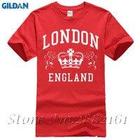 London England T Shirt Royal Vintage Novelty Souvenir Birthday Gift Men Women Print T Shirts Man Short Sleeve T-shirt
