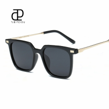 FEIDU New Polarized Square Sunglasses Women Vintage Brand Design Oversized Coating Mirror Sun Glasses Men Eyewear Gafas With Box