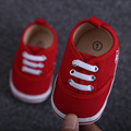 2017 Spring Autumn Baby Shoes Polo Infant Toddler Girl Shoes Red Color First Walkers Soft Bottom Moccs Cute Newborn Unisex Shoes