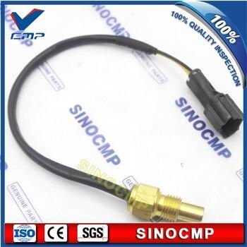 3 pcs  EC240B EC290B Water Temperature Sensor 14508670 For Volvo Excavator
