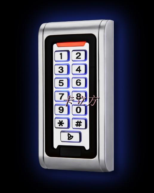 ФОТО 2015 New arrival Metal Case 125KHZ Door Access Control RFID Reader Keypad