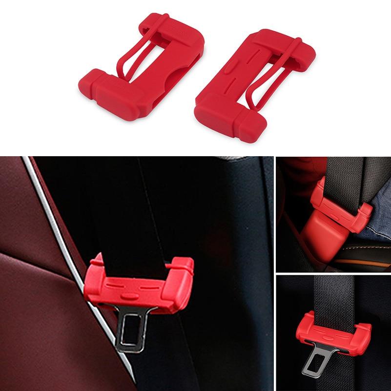 2pcs Car Styling Seat Belt Buckle Covers For VW Volkswagen Polo Golf 4 5 7 6 3 Beetle Passat B5 B6 B7 T5 Touran Bora T4 Tiguan golf 3 td 2011