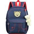 2016 New children school bags boys and girls School backpack nylon waterproof bag multi pocket School Bags Mochila Infantil