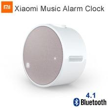 Orijinal Xiao mi mi müzik çalar saat Bluetooth 4.1 yuvarlak 360 saat bekleme hoparlör mi çalar saat