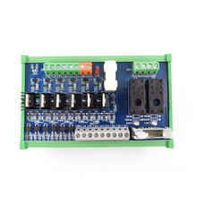 6-way DC, 2-way Hongfa 16A single open relay, 24V module PLC control board, guide rail installation original quality цены