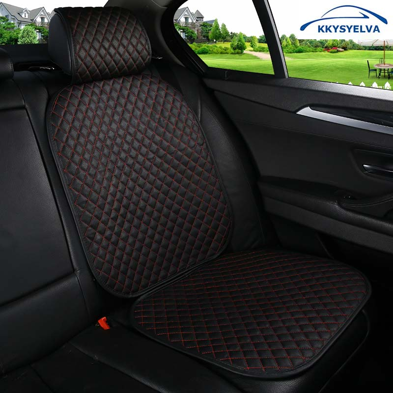 KKYSYELVA 1pcs Child <font><b>Seat</b></font> Protection Pad <font><b>Car</b></font> <font><b>Seat</b></font> Cover <font><b>Car</b></font> Interial <font><b>Seat</b></font> Protector Mat Auto Baby <font><b>Car</b></font> <font><b>Seat</b></font> Covers Black