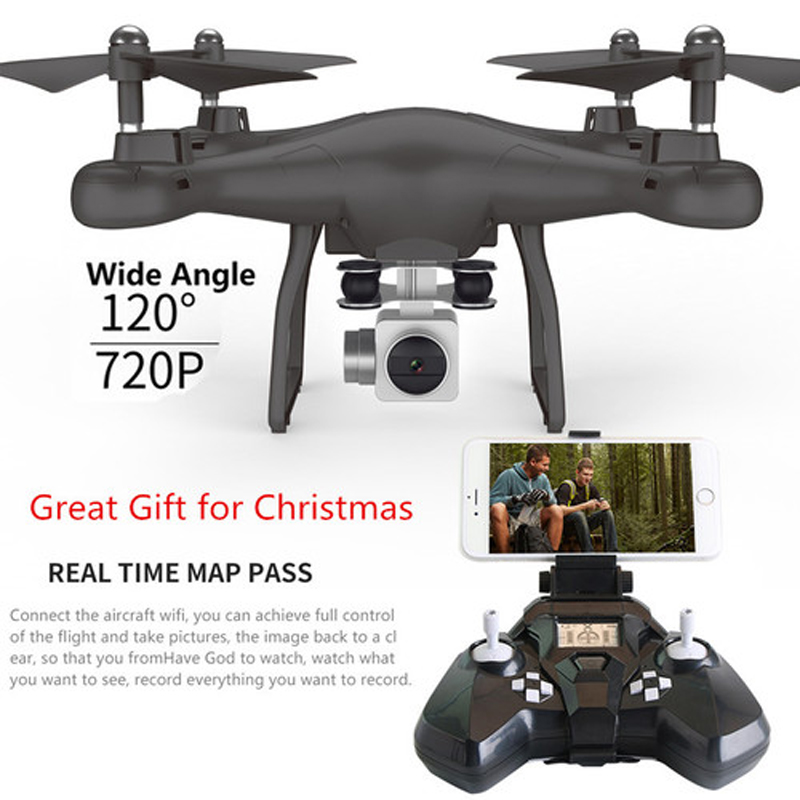 New S10 Camera Drone WiFi FPV Remote Control RC Drone RTF 480P Camera / Headless Mode / One Key Return jxd 509w wifi fpv rc quadcopter rtf 2 4ghz with camera headless mode one key return christmas gift jxd 509 wifi version