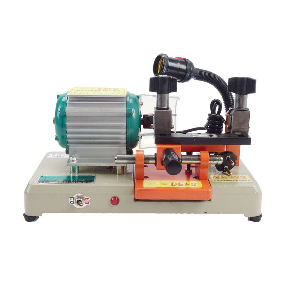 ФОТО 1PC RH-238RS Leaf Lock Key Machine Key Duplicating Machine Key Cutting Cutter 220v/50HZ With English Manual